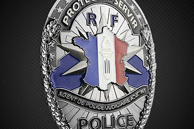 Police Badges Belt Plates F-PM1