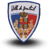 City, municipal police embroidery patche breteuil