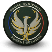 PVC city police patche romans-sur-isere
