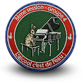 Embroidery patche ENDLR Ecole des Customs