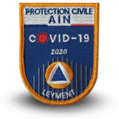 Embroidery patche covid-19 PROTECTION CIVILE