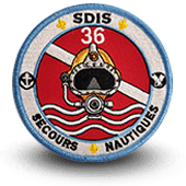 Embroidery patche SECOURS NAUTIQUES