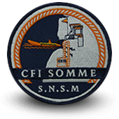 Embroidery patche SNSM CFI Somme